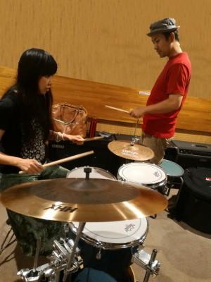 ドラム教室風景