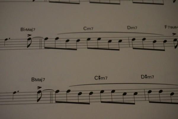 ビバップエクササイズ楽譜1