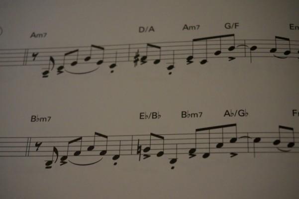 ビバップエクササイズ楽譜2